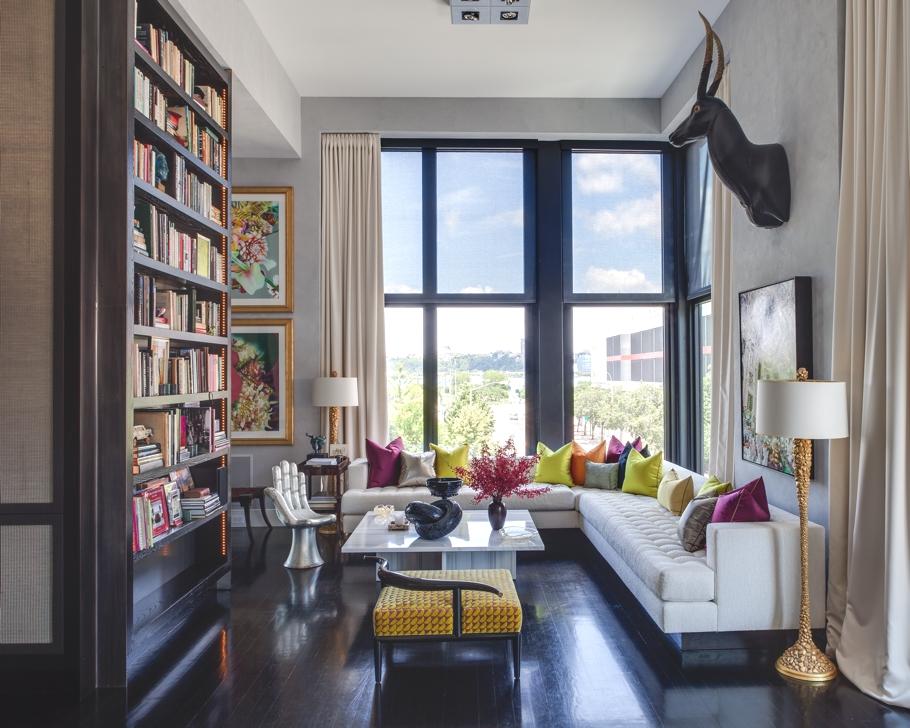 Дизайнерский интерьер квартиры