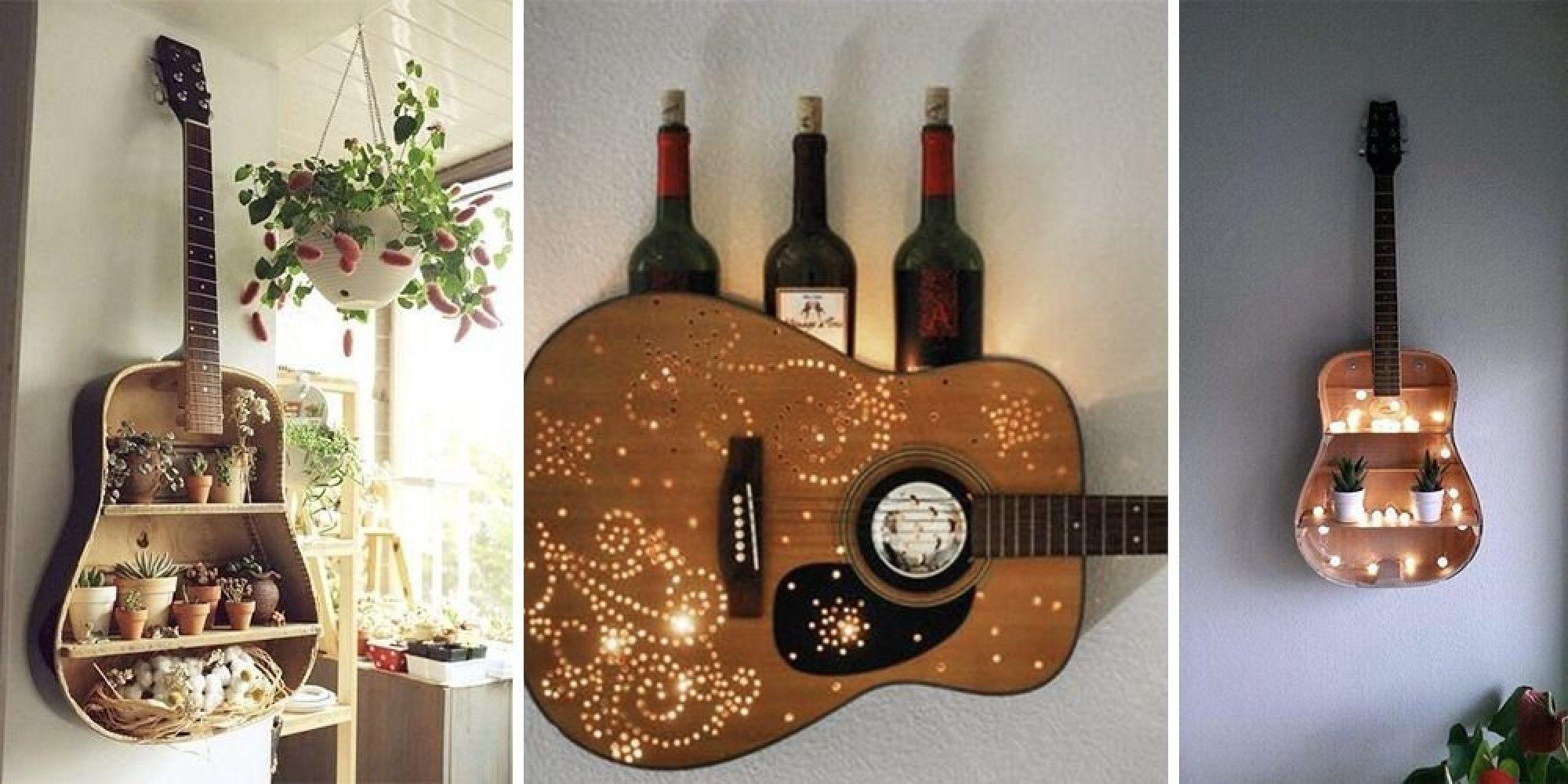 Преображение старой гитары