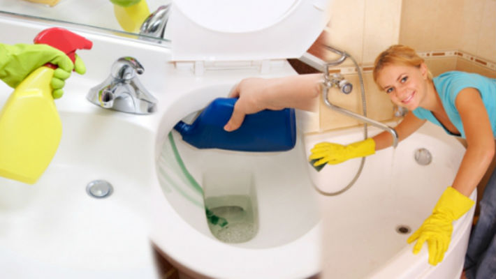 Уборка в ванной может стать легкой и быстрой, если каждый день тратить на это 5 минут своего свободного времени