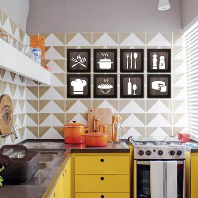 Динамичная и стильная кухня