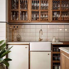 Кухня в стиле ретро-рустик