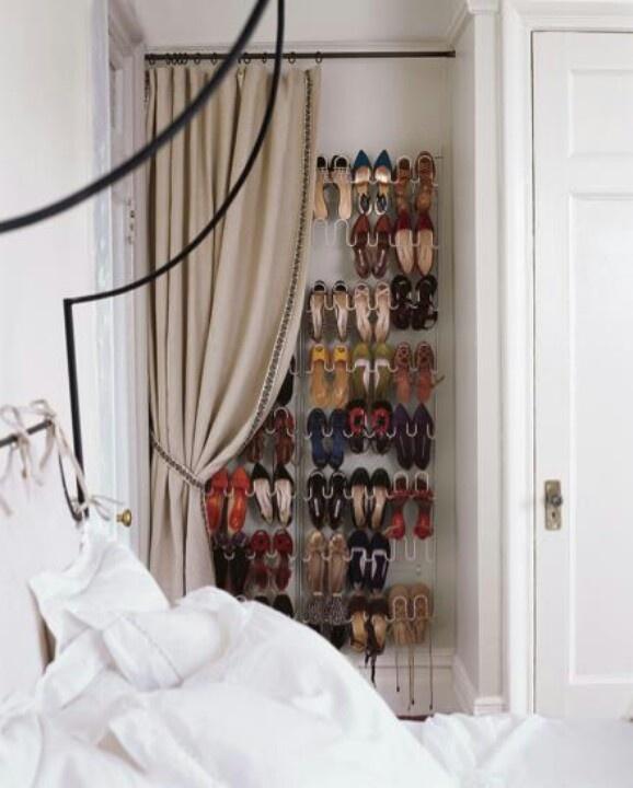 Оригинальное хранение обуви