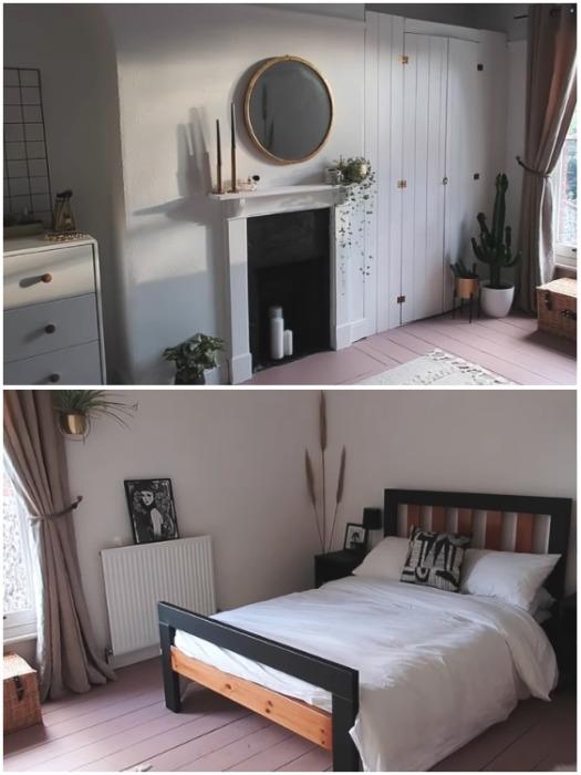 Заключительный штрихи преображения спальни