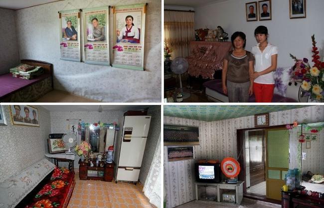 Среднестатистический интерьер граждан Северной Кореи