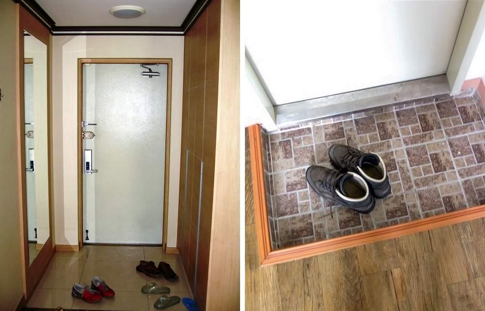 Мини-прихожая в корейской квартире