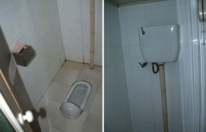 Туалет в виде чаши генуя