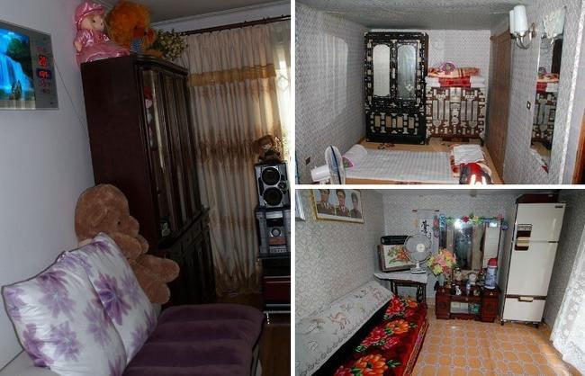 """Этот интерьер квартиры в Северной Корее считается """"дорого, богато"""""""