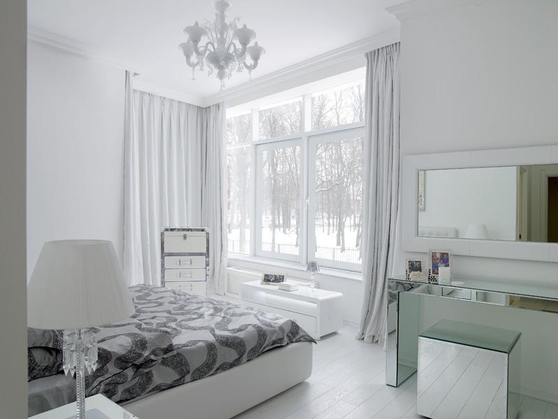 Спальня звездной пары