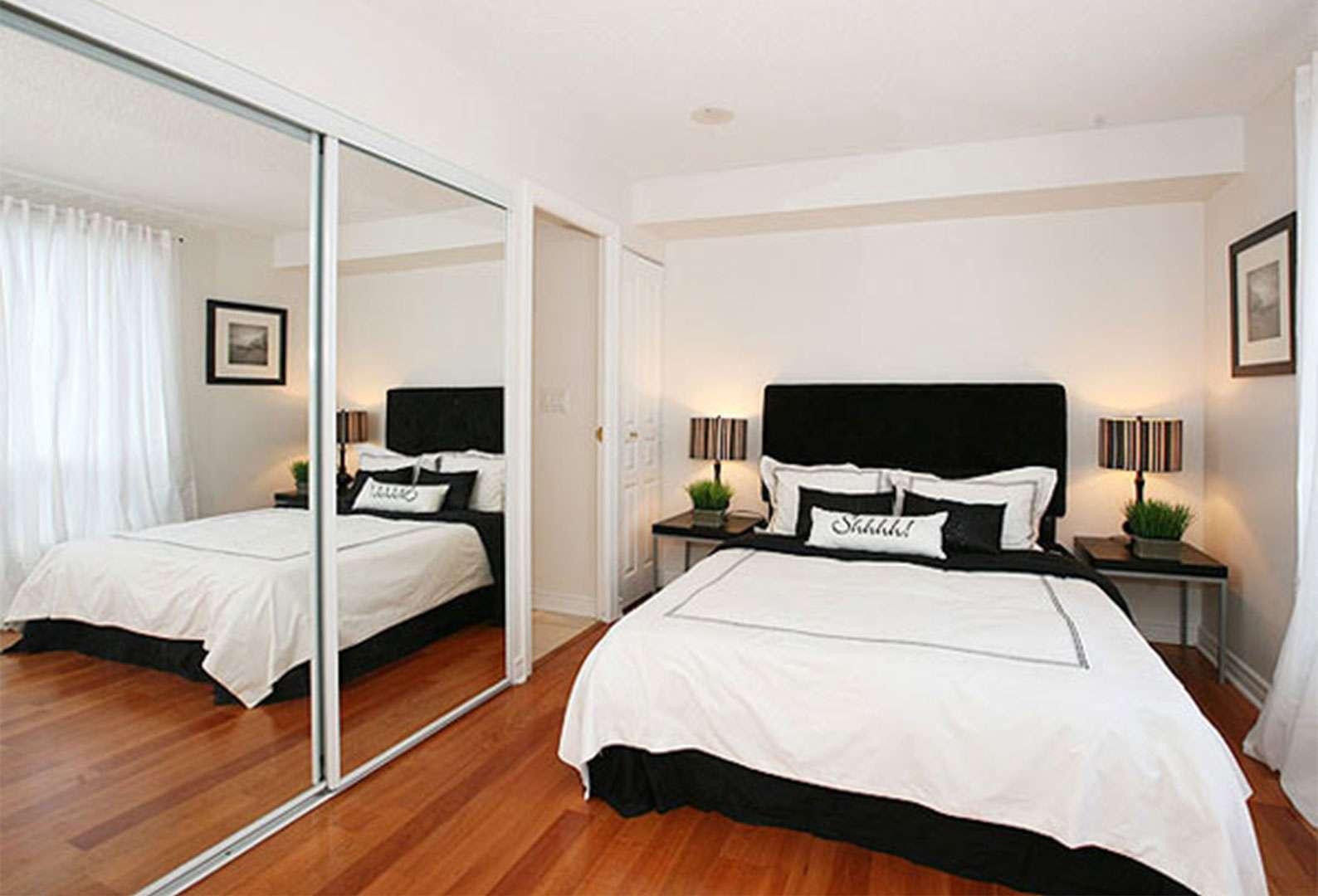 Дизайн спальни без окон