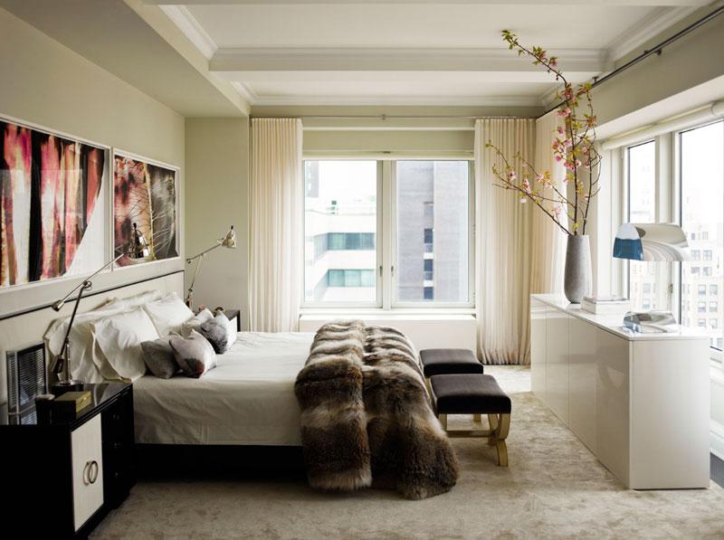 Стильный и современный дизайн спальни