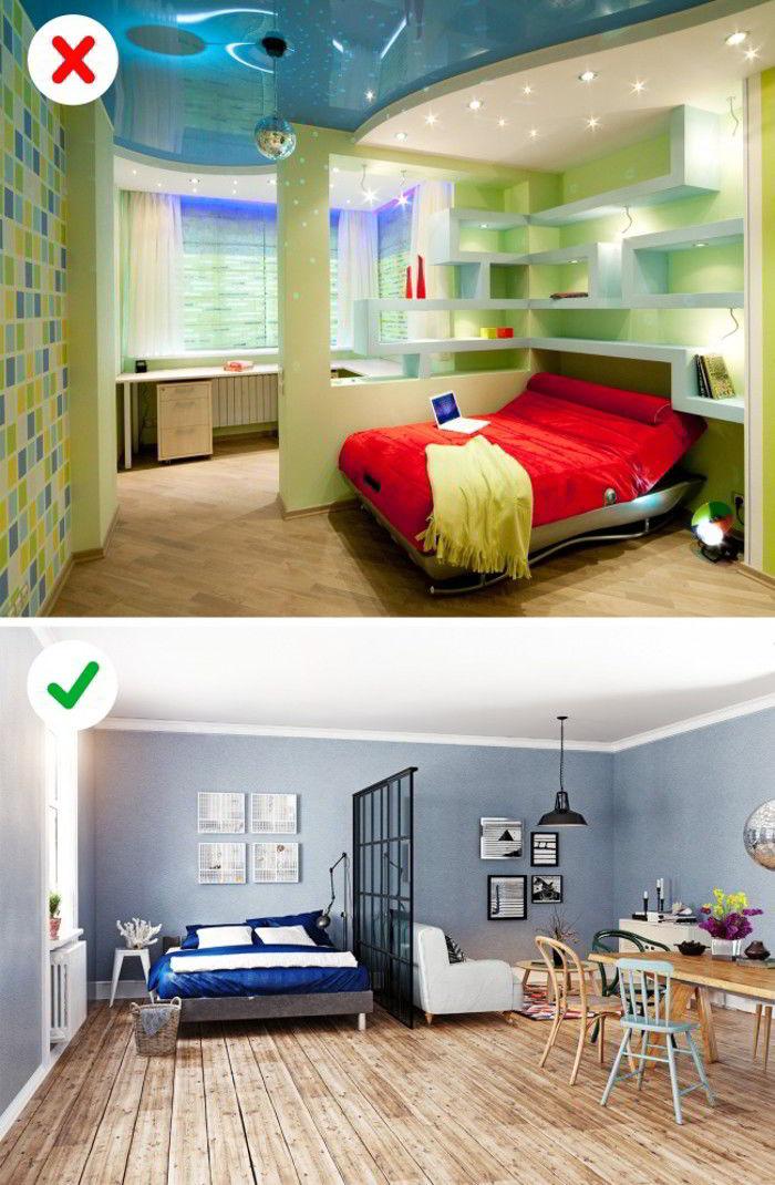 Интерьерные ошибки могут превратить вашу квартиру в неряшливый домишко