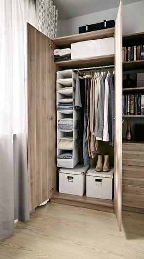 Готовый шкаф из ИКЕА