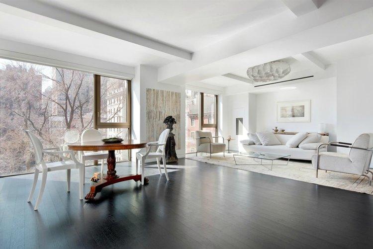Интерьер нью-йоркской квартиры Карла Лагерфельда