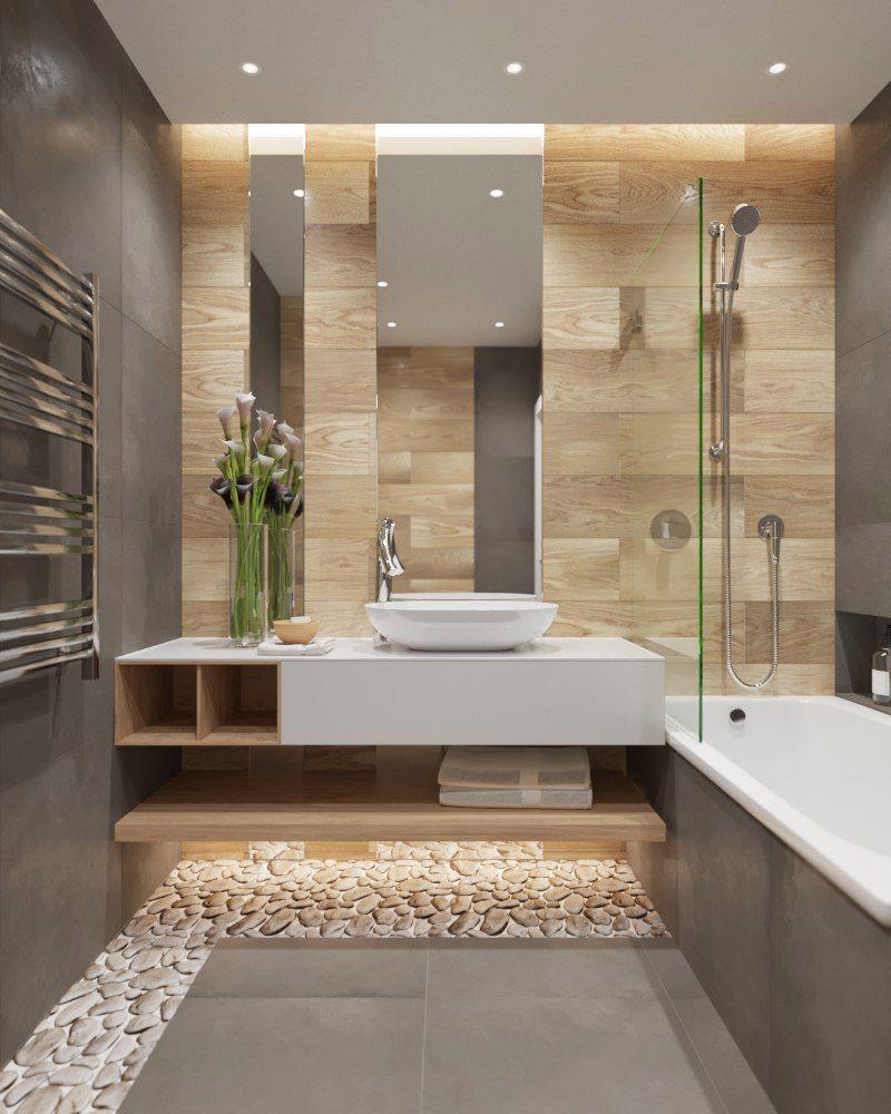 Модный интерьер ванной комнаты в 2020 году