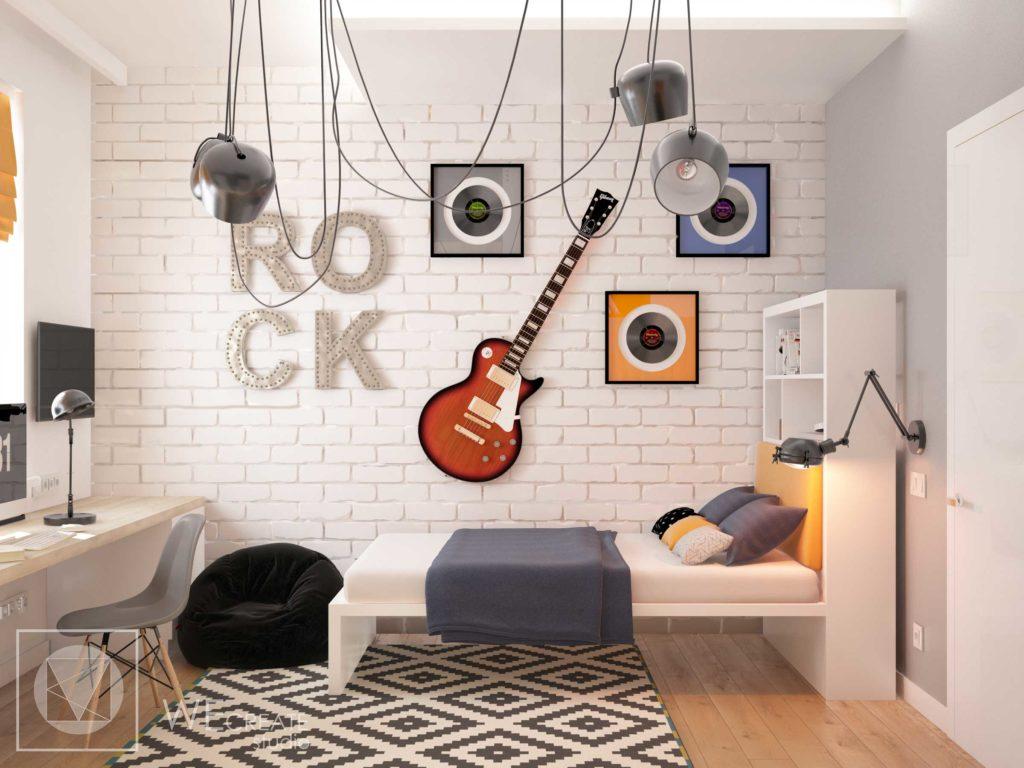 Виниловые пластинки могут украсить любую комнату