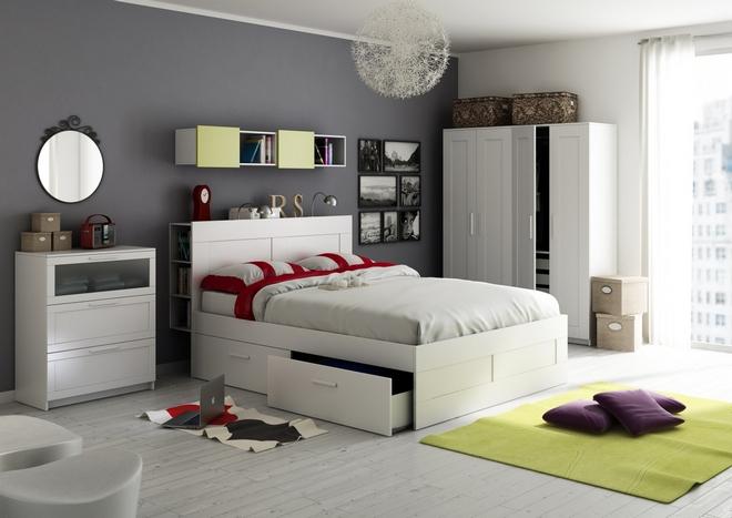 Однотипная мебель делает интерьер скучным