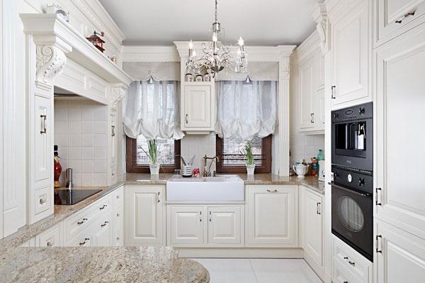 фрески в интерьере кухни