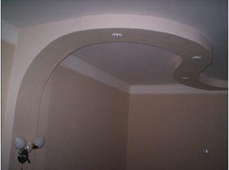 Гипсокартон в гостиной и арочные профиля всегда очень хорошо смотрятся, но их использование требует точного проведения всех линий, в противном случае недочёты моментально бросаются в глаза