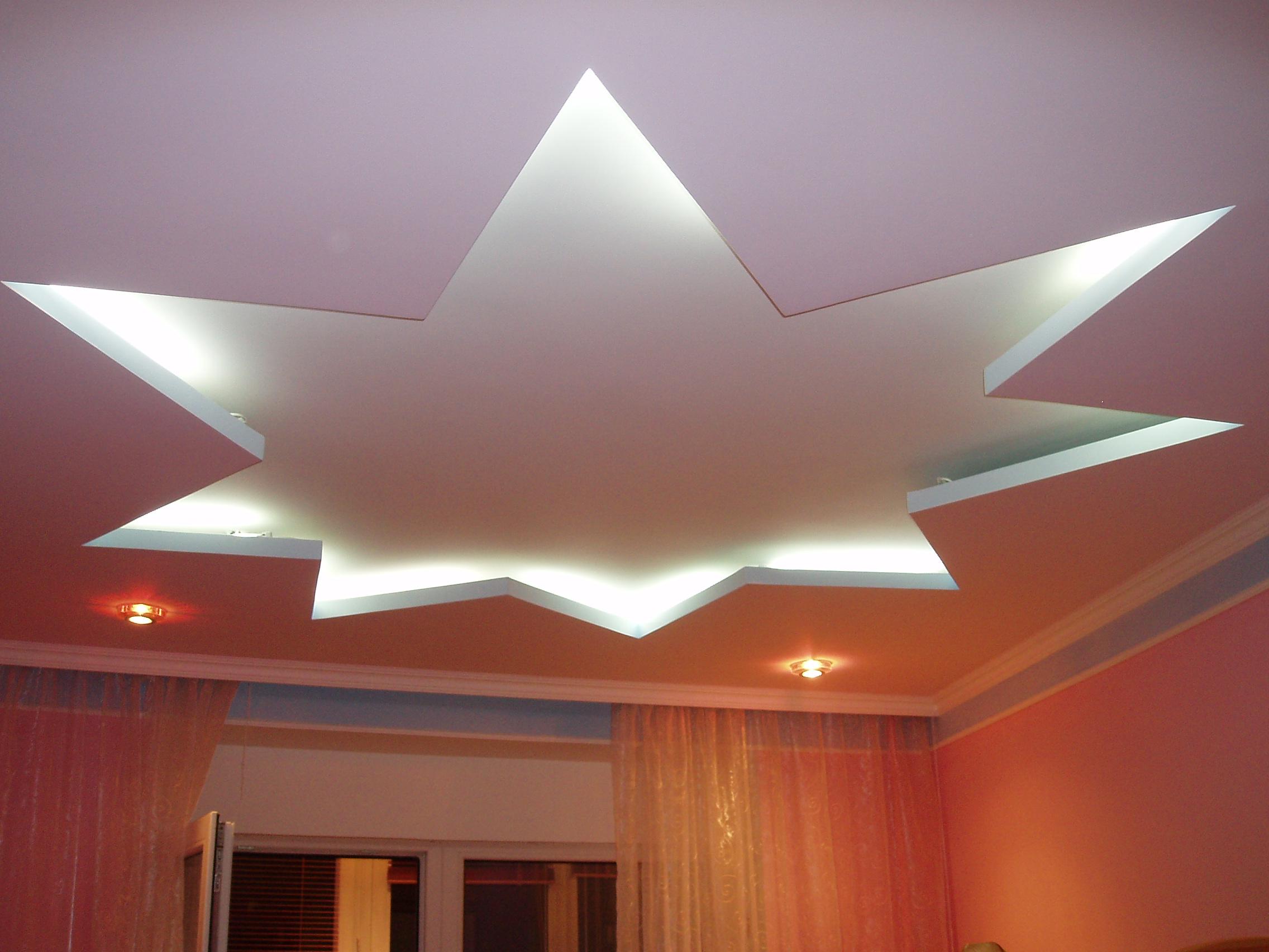 Как сделать навесной потолок из гипсокартона видео