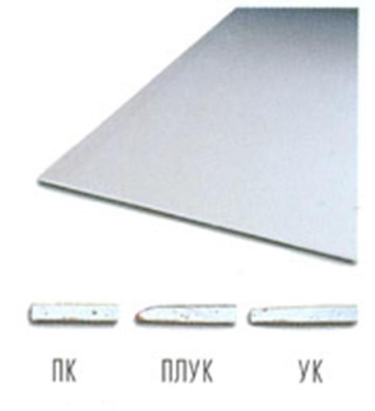 ГКЛ «Knauf» с разными типами кромки