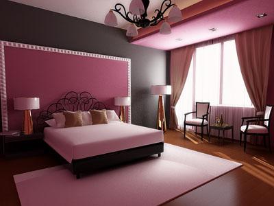 Готовый дизайн спальни