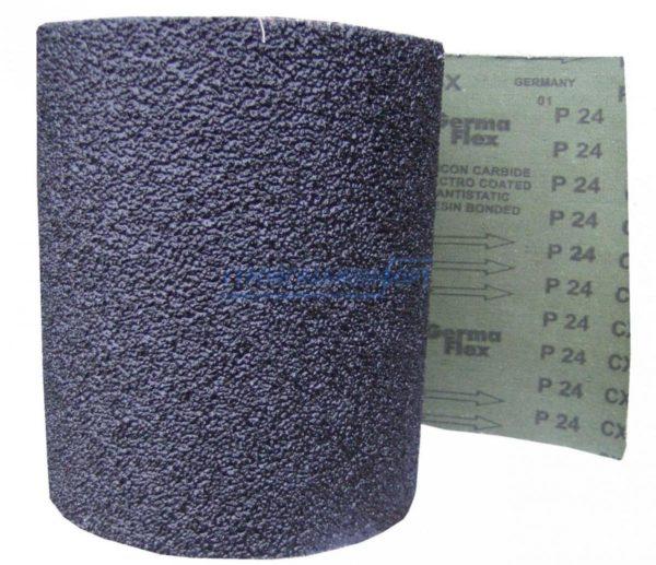 Грубая наждачка предназначена для предварительного ошкуривания поверхностей.