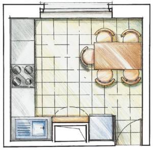 Идеи для ремонта маленькой кухни