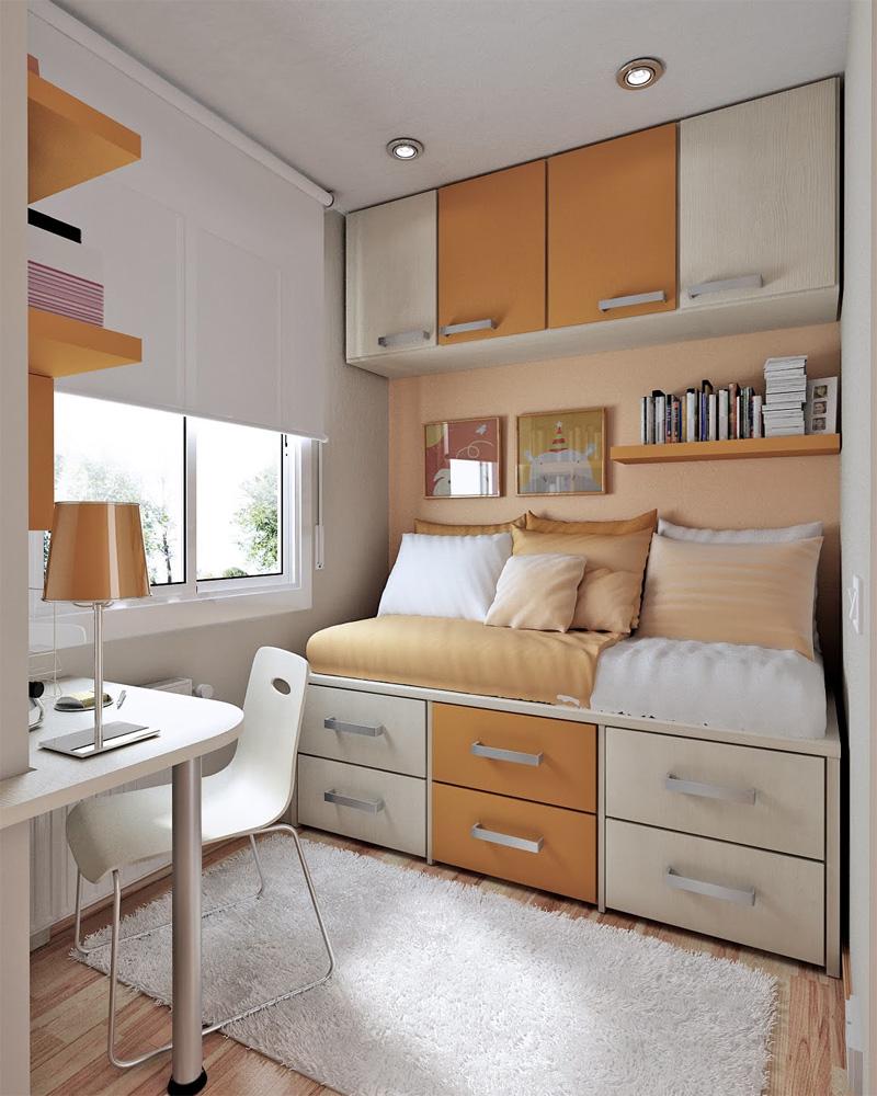 идея дизайна для маленькой квартиры