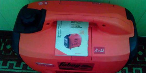 Инструкция помогает буквально за 10 минут разобраться во всех нюансах использования генератора Фубаг