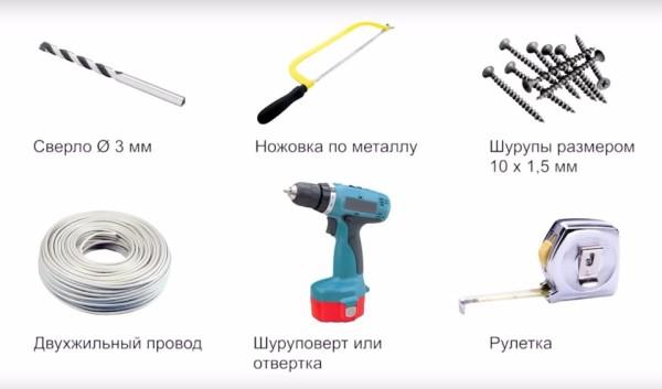 Инструменты и приспособления для монтажа мебельного профиля