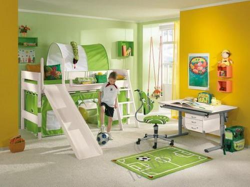 интерьер детской для двух мальчиков