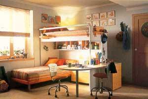 Интерьер детской комнаты для мальчиков