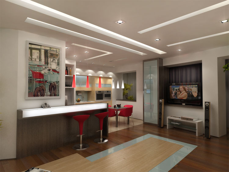 интерьер кухни 8 м кв