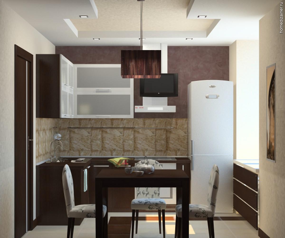 Красивый дизайн кухни в хрущевке: Интерьер кухни в хрущевке с газовой колонкой в маленькой