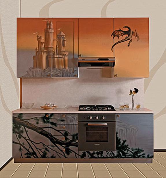 интерьеры кухни 6 метров