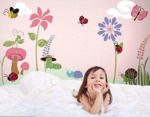 Использование подобных рисунков уместно для детской