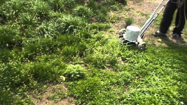 Изготовленная собственными руками газонокосилка позволит привести в порядок траву на загородном участке при относительно невысоких финансовых затратах