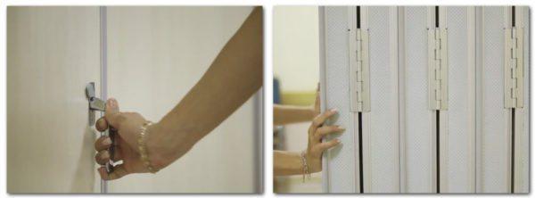 Качество фурнитуры — это первое, на что нужно обратить внимание при выборе перегородок
