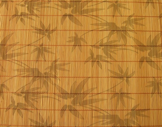как клеить обои из бамбука