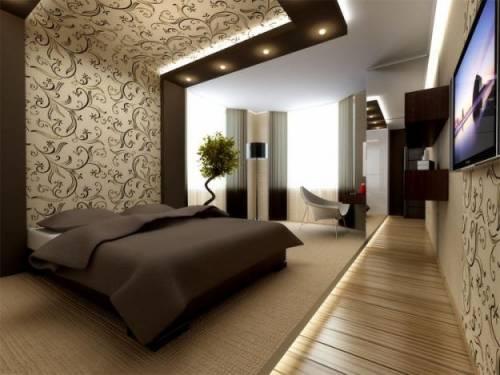 Сочетание цветов для спальни