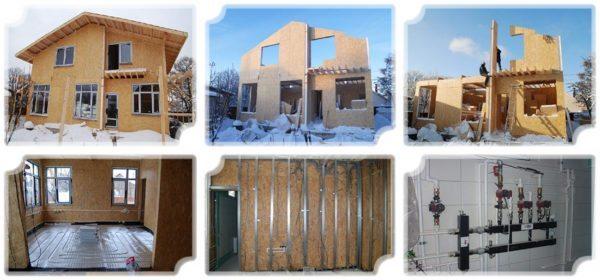 Каркасные дома в Севастополе предлагаются из расчета 10000 рублей за квадрат без отделки и 15000 рублей за 1 м2 в полностью отделанном состоянии.