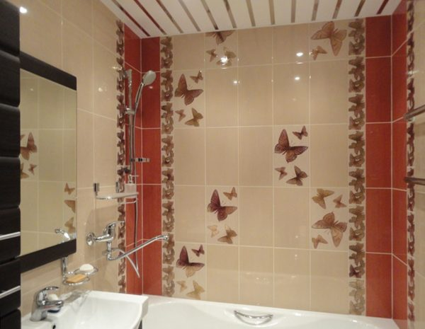 Керамическая плитка — самый популярный материал для отделки стен ванной благодаря практичности и привлекательному дизайну