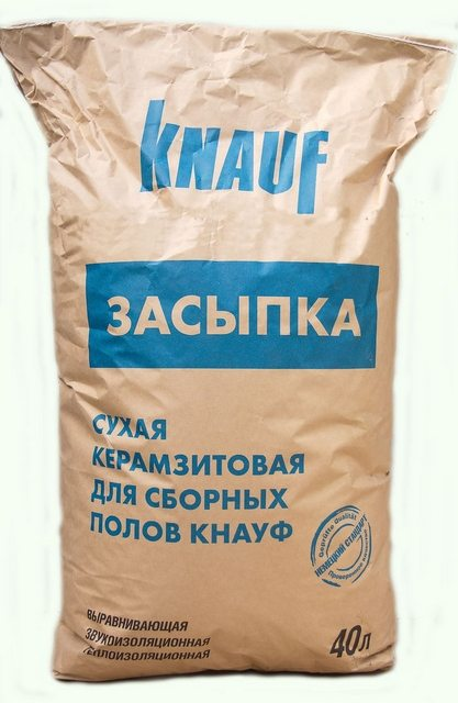 Керамзитная засыпка от «Knauf».