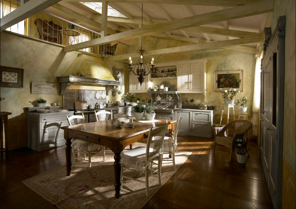 классические кухни в интерьере