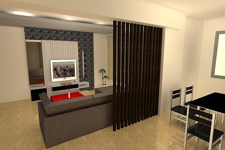 Комната в стиле контемпорари