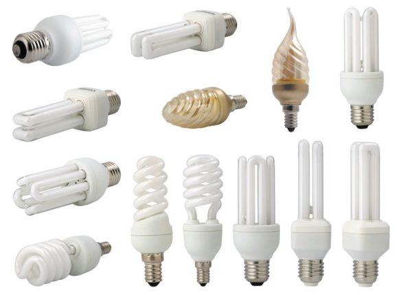 Компактные люминесцентные лампы под популярные форм-факторы цоколей.