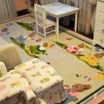Ковер в детской комнате