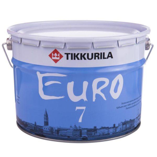 Краска премиум-класса — Tikkurila EURO 7 А