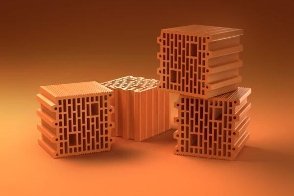 Крупноформатные блоки из обожжённой глины — отличная альтернатива стандартному кирпичу