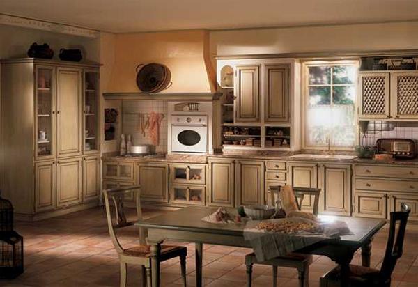 Кухня в классическом стиле прованс